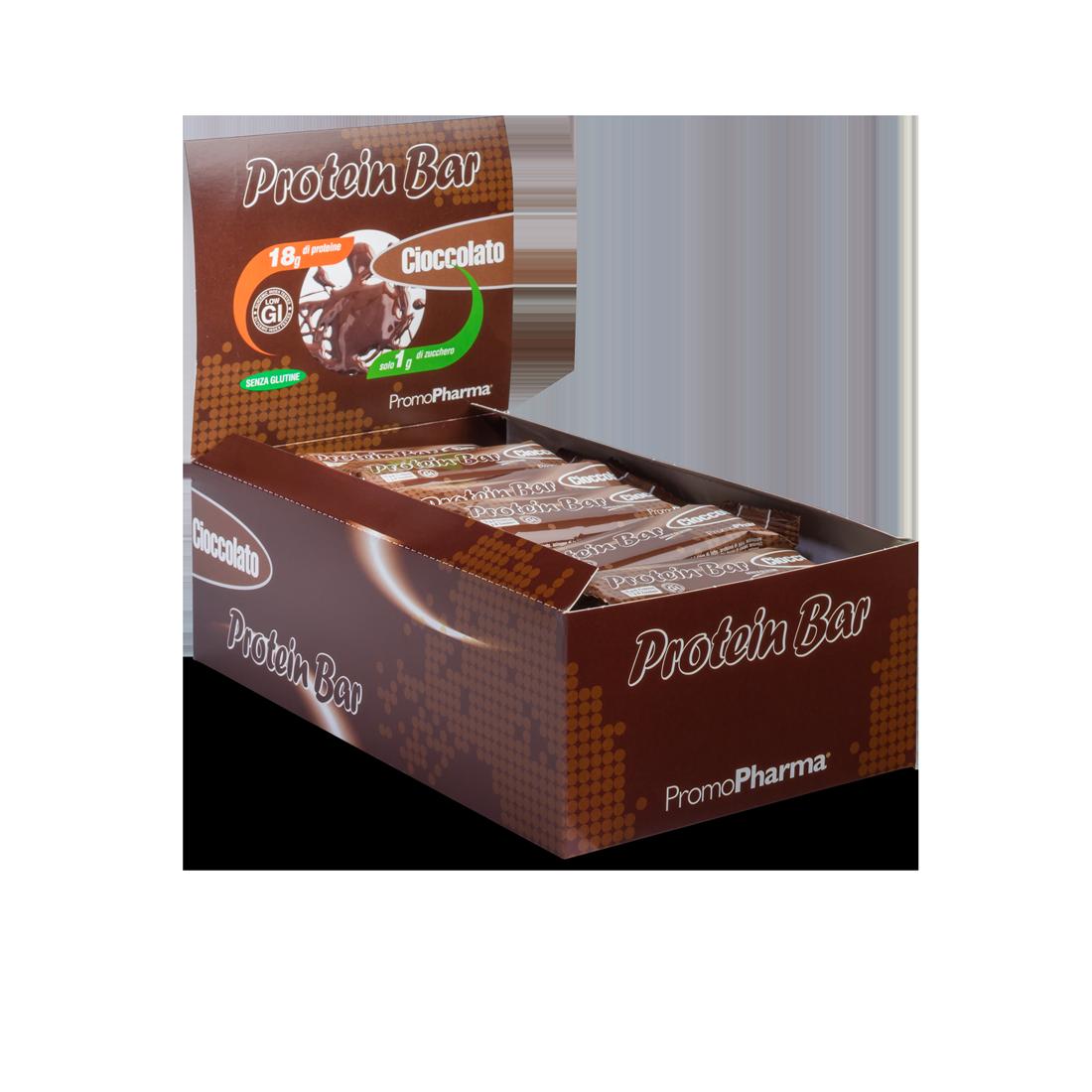 Protein Bar Cioccolato box 24 pz