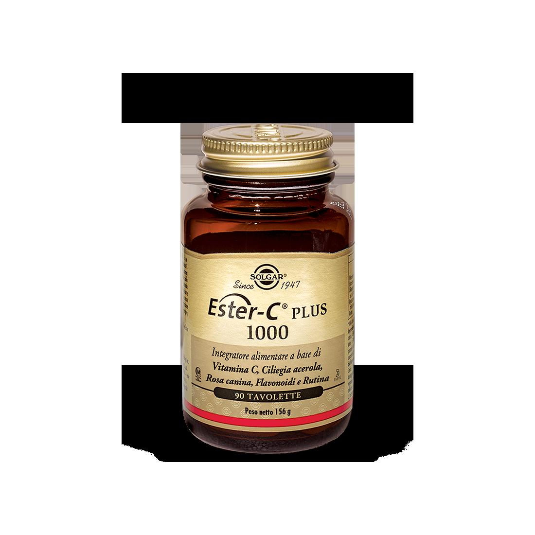 Solgar Ester C Plus 1000